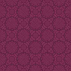 Purple Colors Round grid Pattern. Korean traditional Pattern Des