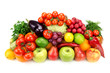 Set Of Fruits And Vegetables I...