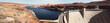 canvas print picture - Glen Canyon Dam