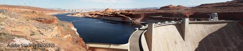 canvas print picture Glen Canyon Dam