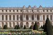 parterre de fleurs, château de Versailles