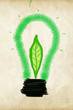 green eco energy concept