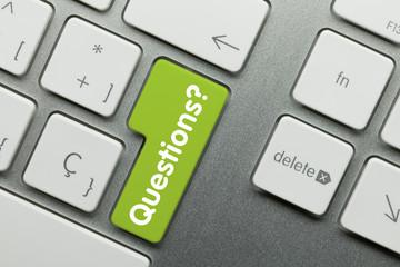 Questions keyboard key