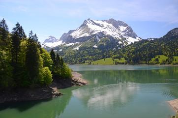 Waegitaler lake, Switzerland