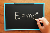 writing physical formula poster