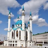 Qolsharif Mosque in Kremlin of Kazan, Russia