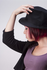 Red hairs and Black hat