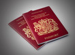 Two UK passports
