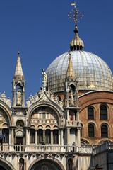 Basilique sur la place St Marc à Venise