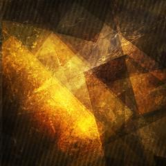 Grunge drak yellow background