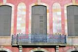 Detalle de la fachada del Parlament de Catalunya. Barcelona poster