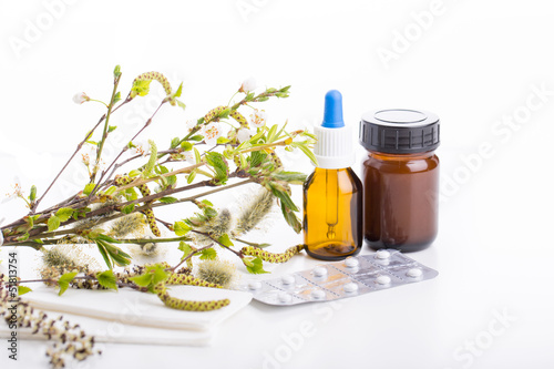 pollen und allergie medikamente