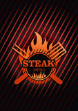 Steak Menu Background