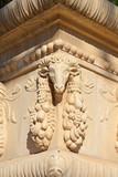 Escultura de capricornio. Montjuic. Barcelona poster