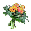 Bouquet with tulip and gerbera