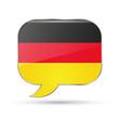 German speak bubble