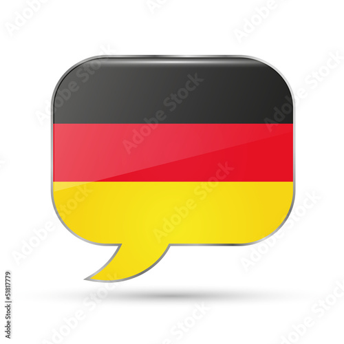 German speak bubble