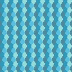 Seamless abstract decorative geometric pattern