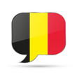 belgium speech bubble