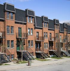 montreal apartment block
