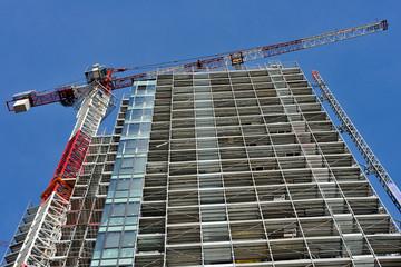 Cantieri di costruzione a Milano