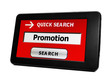 Search for Web promotion