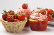 Strawberry cupcakes - Cupcakes alla fragola