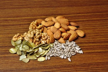 Mixed a healthy diet on cholesterol