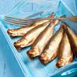 frisch geräucherte Fische