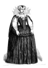 French Lady - Mode/Fashion (ca 1600)