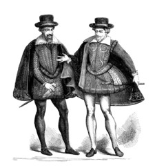 2 Gentlemen - Mode/Fashion - France (ca 1600)