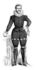 French Aristocrat - Mode/Fashion (ca1600)