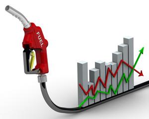 Повышение цен на топливо. Концепция