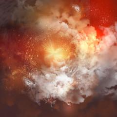 Cosmic clouds of mist