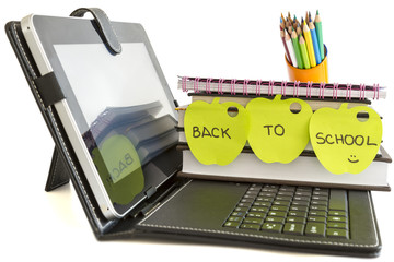 Back to school with digital tablet pc