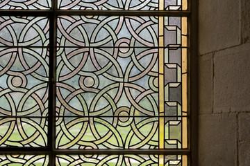 Vitraux de l'abbaye de Fontenay