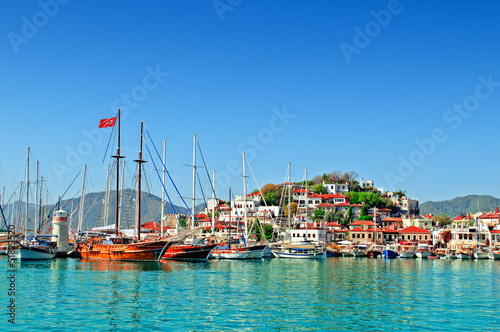 Foto op Plexiglas Poort port of Marmaris