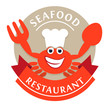 Logo Seafood Restaurant Red Crab