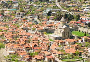 Georgia, Mtskheta, village