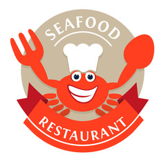 Logo Seafood Restaurant Red Crab
