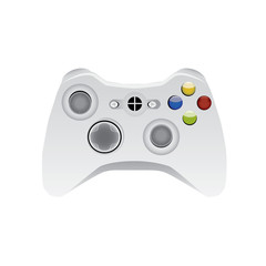 isolated wirelles gamepad