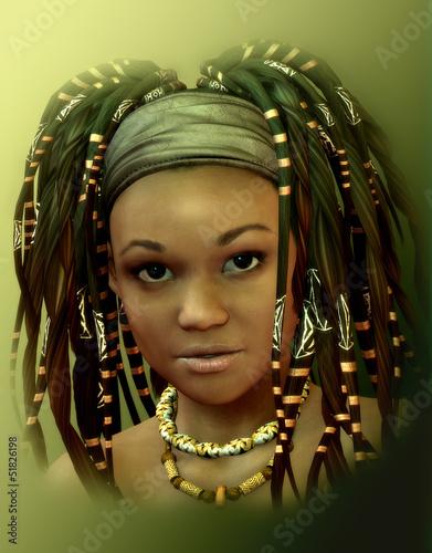 Fototapeten,3d,kunst,afrikanisch,afrika