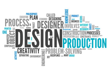 "Word Cloud ""Design"""