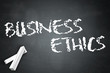 "Blackboard ""Business Ethics"""
