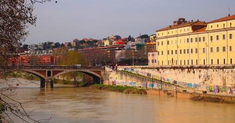 ROMA, VEDUTA DELL'ISOLA TIBERINA