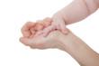 Liebevolle Hand