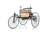 Fototapety Oldtimer erstes Auto der Welt Carl Benz Wagen Auto