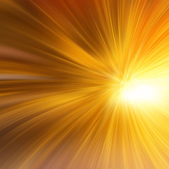 High-resolution gold abstract