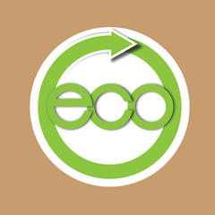 Eco recycle paper tag