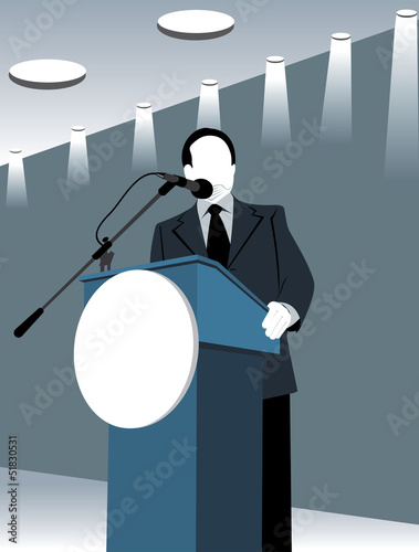 Politician speech